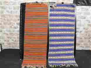 Lot of 2 Native American Prayer Rugs