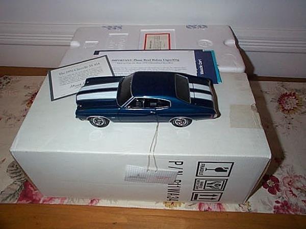 1: Franklin Mint Precision Model 1970 Chevelle SS 454,