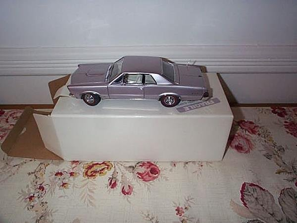 3: Danbury Mint 1965 Pontiac GTO, 1:24 scale, with COA,