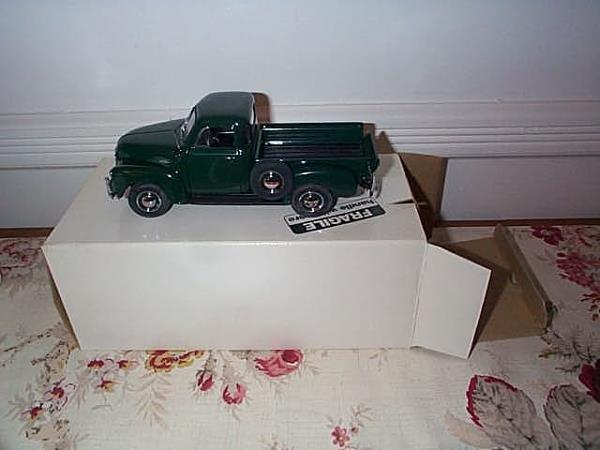 4: Danbury Mint 1953 Chevrolet Pick up Truck, 1:24 scal