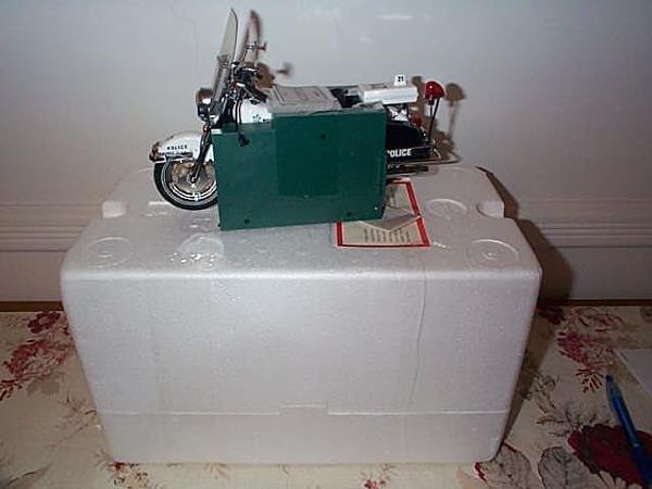 5: Franklin Mint Precision Model Harley Davidson Police
