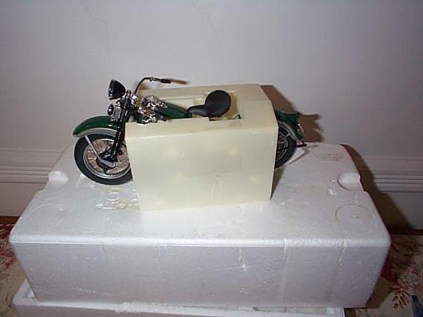 6: Franklin Mint Precision Model 1936 Harley Davidson E