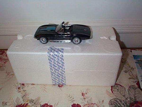 11: Franklin Mint Precision Model 1967 Corvette, Stingr