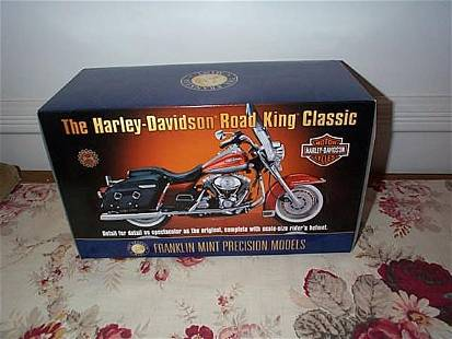 Franklin Mint Precision Model Harley Davidson Road