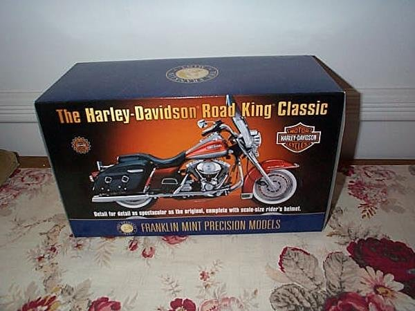 16: Franklin Mint Precision Model Harley Davidson Road