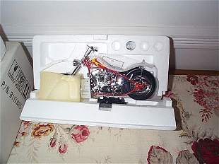 Franklin Mint Precision Model Harley Davidson The B