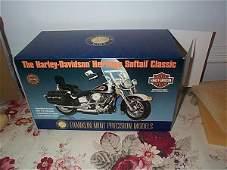 30: Franklin Mint Precision Model Harley Davidson Herit