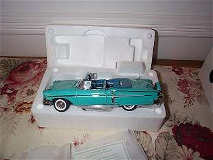 Danbury Mint 1958 Chevrolet Impala; 1:24 scale, wit