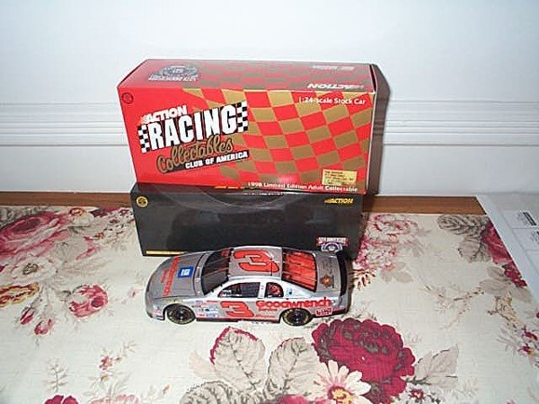 60: RCCA Elite Collectible Dale Earnhardt #3 Silver Sel
