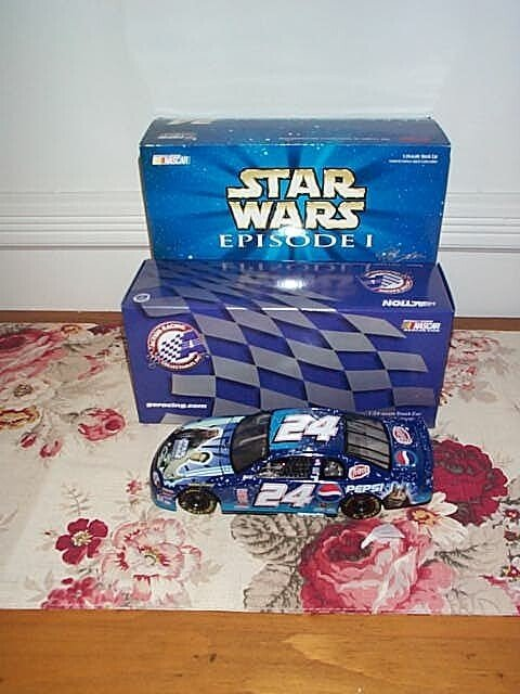 90: Action Racing Collectible Jeff Gordon Star Wars 199