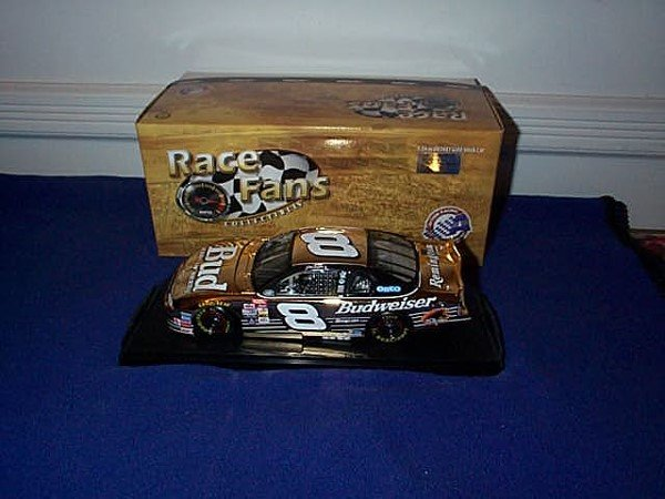 249: Action Race Fans Collectibles 24KT Gold Stock Car