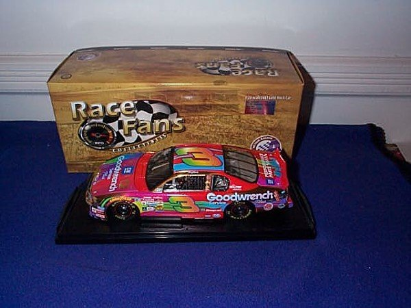 251: Action Race Fans Collectibles 24KT Gold Stock Car