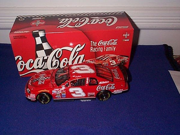 265: Action Racing Collectibles Dale Earnhardt #3 Coke,