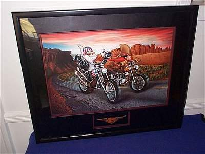 335: Warner Brothers Studio Store Gallery Lithograph -