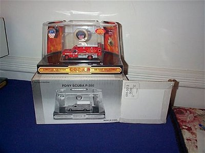 374: Code 3 Collectibles Number 12000 Fire Department o