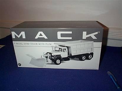 First Gear Die-Cast Mack R-Model Dump Truck with P