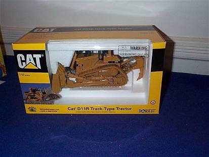 Norscot Die-Cast, Cat D11R Track-Type Tractor, 1:5