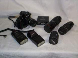 Outstanding professional camera lot, open your own