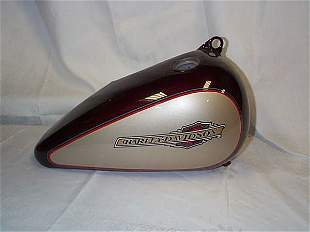 Harley-Davidson fuel tank appears to be never used