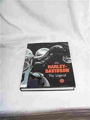 Harley-Davidson The Legend hard cover book by Oluf