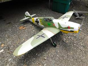 RC WWII Airplane with Electric Motor