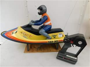 RC SeaJet Jet Ski with Electric Motor and Traxxas 27