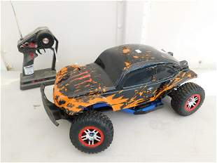RC Racecar with Trasher Motor and VW Body