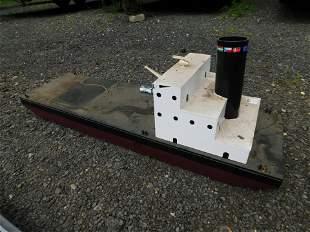 RC Custom Made Flattop Barge with Smoking Kit
