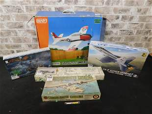 Lot of 5 Model Kits including Revell and Airfix