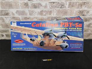 Guillow's Consolidated Catalina PBY-5a Model Kit in Box