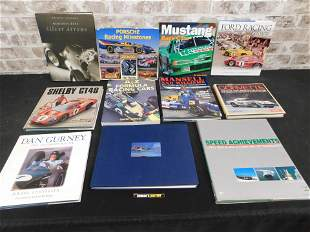 Group Lot of Car Related Books