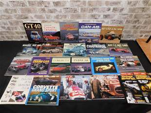 Group Lot of Car Related Softcover Books