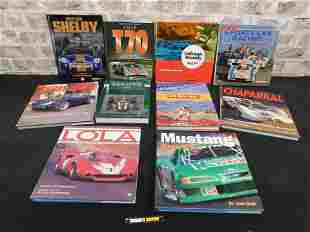Group Lot of Car Related Hardcover Books