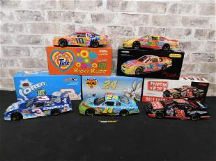 Lot of 5 Action Racing NASCAR 1:18 Scale Die-Cast Cars