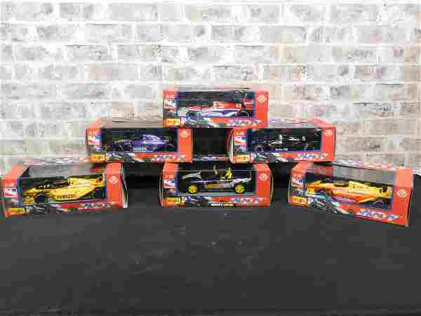 Lot of 6 Maisto Indy Racing Replica's 1:18 Scale