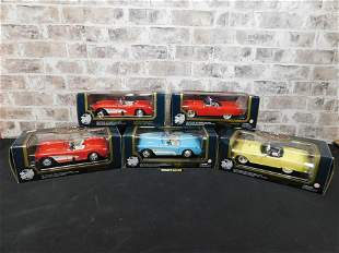 Lot of 5 Road Tough Diecast Cars