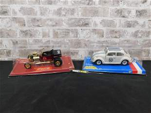 Lot of 2 Johnny Lightning 1:18 Scale Diecast Cars