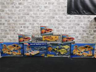 Lot of 8 AMT and Monogram Racing Model Kits