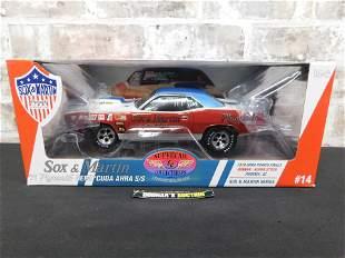 Sox & Martin '71 Plymouth Hemi Cuda AHRA S/S Diecast