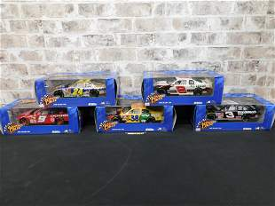 Lot of 5 Winner's Circle 1:18 Scale Diecast Cars