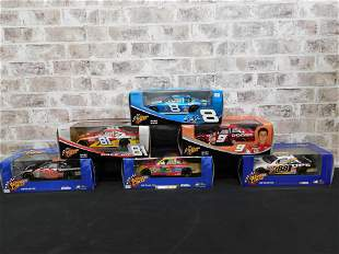 Lot of 6 Winner's Circle 1:18 Scale Diecast Cars