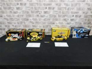 Lot of 3 Revell Diecast NASCAR and 1 Motorworks Model