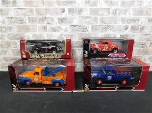 Lot of 4 Road Signature/Legends Diecast Cars