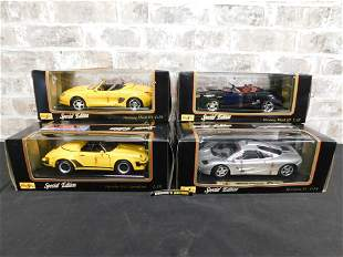 Lot of 4 Maisto Special Edition Diecast Cars