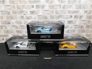 Lot of 3 Ford GT Concept 1:18 Scale Model Kits