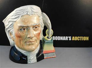Royal Doulton Thomas Jefferson Toby Jug