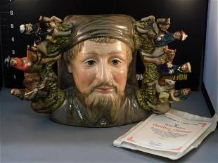 Royal Doulton Geoffrey Chaucer Character Jug