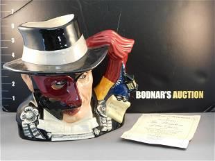 Royal Doulton Phantom of the Opera Character Jug