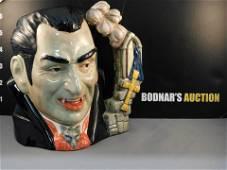 Royal Doulton Count Dracula Character Jug