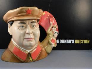 Royal Doulton Chairman Mao Zedong Character Jug
